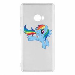 Чохол для Xiaomi Mi Note 2 Rainbow Dash run - FatLine