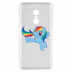 Чохол для Xiaomi Redmi Note 4 Rainbow Dash run - FatLine