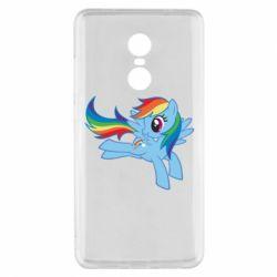 Чохол для Xiaomi Redmi Note 4x Rainbow Dash run - FatLine