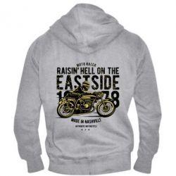 Чоловіча толстовка на блискавці Raisin Hell Moto Racer
