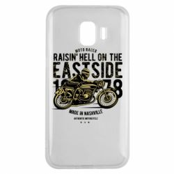 Чохол для Samsung J2 2018 Raisin Hell Moto Racer