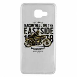 Чохол для Samsung A7 2016 Raisin Hell Moto Racer