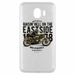 Чохол для Samsung J4 Raisin Hell Moto Racer