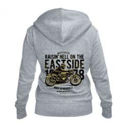 Жіноча толстовка на блискавці Raisin Hell Moto Racer