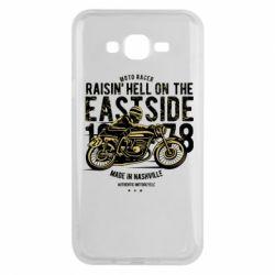 Чохол для Samsung J7 2015 Raisin Hell Moto Racer