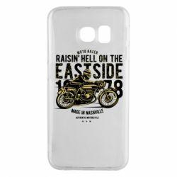 Чохол для Samsung S6 EDGE Raisin Hell Moto Racer