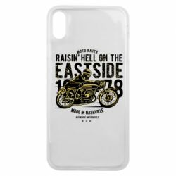Чохол для iPhone Xs Max Raisin Hell Moto Racer