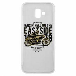 Чохол для Samsung J6 Plus 2018 Raisin Hell Moto Racer