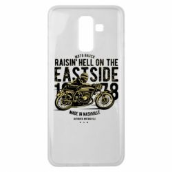 Чохол для Samsung J8 2018 Raisin Hell Moto Racer