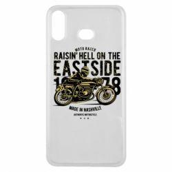 Чохол для Samsung A6s Raisin Hell Moto Racer