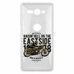 Купить Чехол для Sony Xperia XZ2 Compact Raisin Hell Moto Racer, FatLine