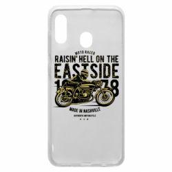 Чохол для Samsung A30 Raisin Hell Moto Racer