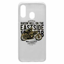 Чохол для Samsung A40 Raisin Hell Moto Racer