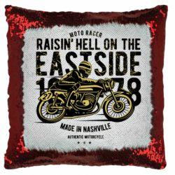 Подушка-хамелеон Raisin Hell Moto Racer