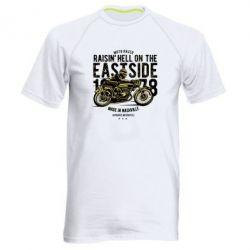 Чоловіча спортивна футболка Raisin Hell Moto Racer