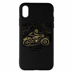 Чохол для iPhone X/Xs Raisin Hell Moto Racer