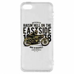 Чохол для iphone 5/5S/SE Raisin Hell Moto Racer