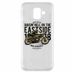 Чохол для Samsung A6 2018 Raisin Hell Moto Racer
