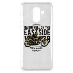 Чохол для Samsung A6+ 2018 Raisin Hell Moto Racer