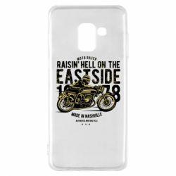Чохол для Samsung A8 2018 Raisin Hell Moto Racer