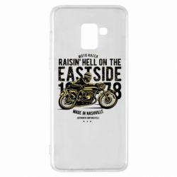 Чохол для Samsung A8+ 2018 Raisin Hell Moto Racer