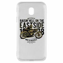 Чохол для Samsung J3 2017 Raisin Hell Moto Racer
