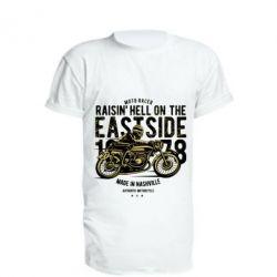 Подовжена футболка Raisin Hell Moto Racer