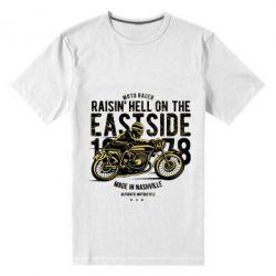 Чоловіча стрейчева футболка Raisin Hell Moto Racer