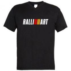 Мужская футболка  с V-образным вырезом Ralli Art Small - FatLine