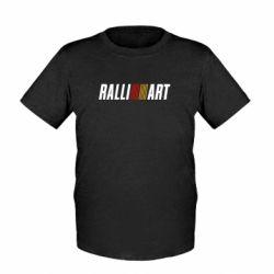 Детская футболка Ralli Art