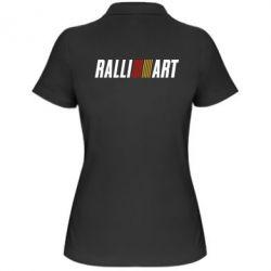Женская футболка поло Ralli Art - FatLine