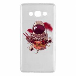 Чехол для Samsung A7 2015 Рамэн Космонавт