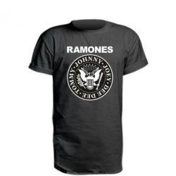 Подовжена футболка Ramones