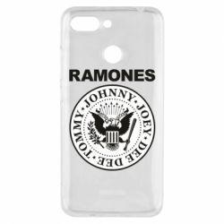 Чехол для Xiaomi Redmi 6 Ramones - FatLine