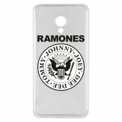 Чехол для Meizu M5 Ramones - FatLine