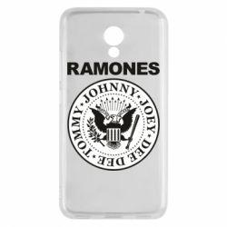 Чехол для Meizu M5c Ramones - FatLine