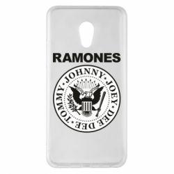 Чехол для Meizu Pro 6 Plus Ramones - FatLine