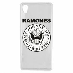 Чехол для Sony Xperia X Ramones - FatLine