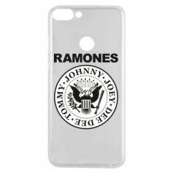Чехол для Huawei P Smart Ramones - FatLine
