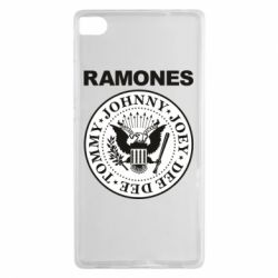Чехол для Huawei P8 Ramones - FatLine