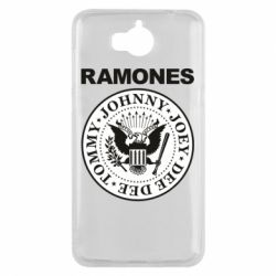 Чехол для Huawei Y5 2017 Ramones - FatLine