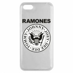 Чехол для Huawei Y5 2018 Ramones - FatLine