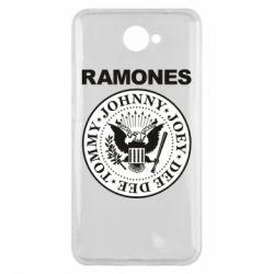 Чехол для Huawei Y7 2017 Ramones - FatLine