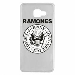 Чохол для Samsung A7 2016 Ramones