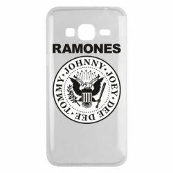 Чохол для Samsung J3 2016 Ramones