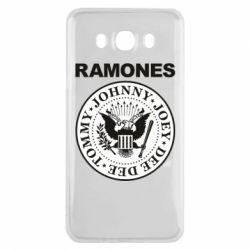 Чохол для Samsung J7 2016 Ramones