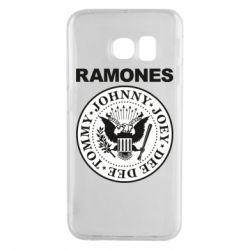 Чохол для Samsung S6 EDGE Ramones