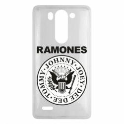 Чехол для LG G3 mini/G3s Ramones - FatLine