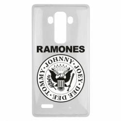 Чехол для LG G4 Ramones - FatLine