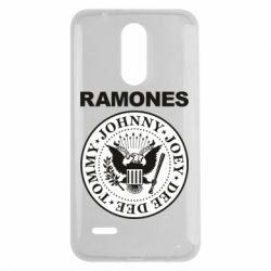 Чехол для LG K7 2017 Ramones - FatLine